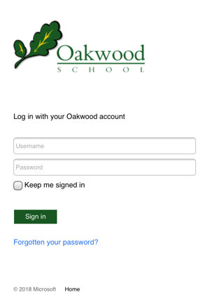 Oakwood login