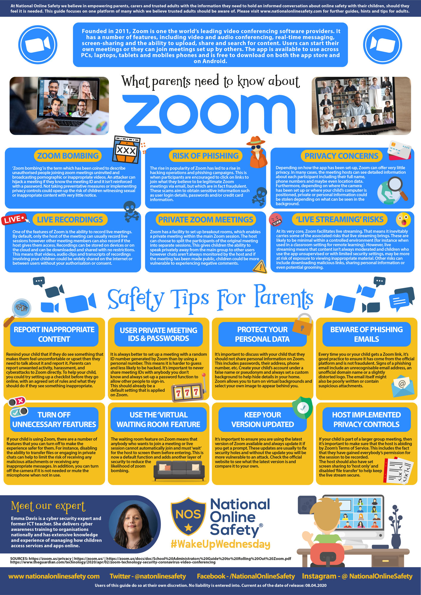 What parents need to know zoom